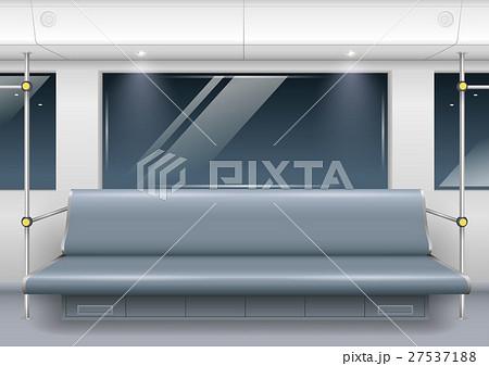 subway car interior 27537188 pixta. Black Bedroom Furniture Sets. Home Design Ideas