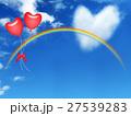 青空に虹と風船 27539283