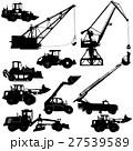 ローダー ブルドーザー ショベルカーのイラスト 27539589