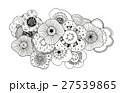 ボタニカル パターン 27539865