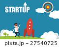 Illustration of entrepreneurship business concept 27540725