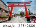日本 鳥居 ゲートの写真 27542880