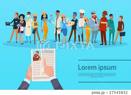 Curriculum Vitae Recruitment Candidate Job 27543832
