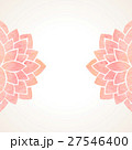 Watercolor pink floral background 27546400