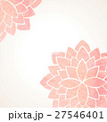 Watercolor pink floral background 27546401