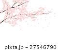 桜 花 ソメイヨシノのイラスト 27546790