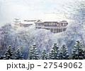 京都観光 世界遺産 清水寺の雪景色 27549062