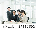ビジネスマン ビジネスウーマン チームの写真 27551692