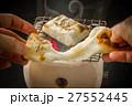やきたてお餅 日本食 Dish Japanese foods of the rice cake 27552445