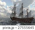 Sailboat On The Sea 3D Illustration 27555645