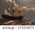 Sailboat On The Sea 3D Illustration 27555675