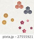 和柄 和紙 和のイラスト 27555921