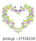 花 スイトピー フレームのイラスト 27556239