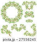 装飾 装飾用 葉のイラスト 27556245