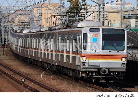 東横線を走る東京メトロ7000系 27557829