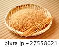 玄米 米 穀物の写真 27558021