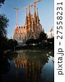 朝焼けのサグラダ・ファミリア(スペイン-バルセロナ) 27558231