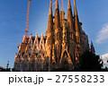 朝焼けのサグラダ・ファミリア(スペイン-バルセロナ) 27558233