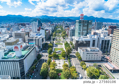 【北海道】札幌・都市風景 27560106