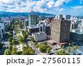 都市風景 ビル街 札幌の写真 27560115
