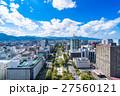 都市風景 ビル街 札幌の写真 27560121