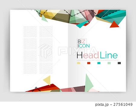 Triangle abstract backgroundのイラスト素材 [27561049] - PIXTA