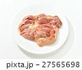 注意)背景の白にキズや汚れが残る場合があります。鶏もも肉、鶏肉、鳥肉、モモ肉、静岡県産。 27565698