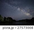 浄土ヶ浜と天の川 27573008