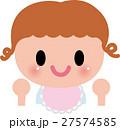 赤ちゃん ベビー 笑顔のイラスト 27574585
