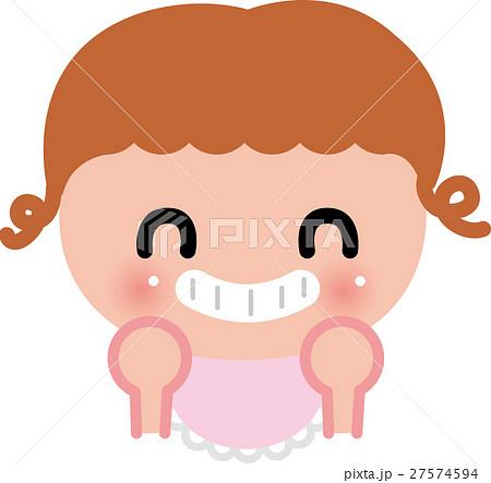 赤ちゃん ベビー 笑顔 にやり 27574594