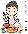 食事 ご飯 朝食のイラスト 27577898