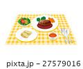 料理 朝食 昼食のイラスト 27579016
