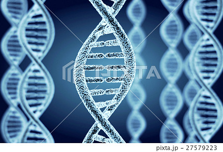 Abstract DNA spiral 27579223