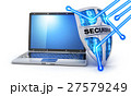 コンピュータ コンピューター パソコンのイラスト 27579249