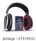 ヘッドフォン ヘッドホン 音楽のイラスト 27579531