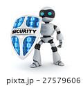 ロボット 安全 セキュリティのイラスト 27579606