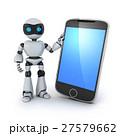 テレフォン 電話 ロボットのイラスト 27579662