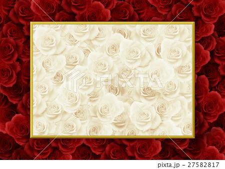 背景素材 薔薇 ばら のイラスト素材