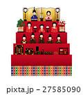 雛祭り 雛人形 ベクターのイラスト 27585090