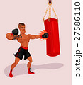illustration of a boxer 27586110