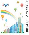 超高層建築、高層ビル、近未来建築 27586997