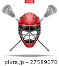 Lacrosse sticks and helmet Label 27589070