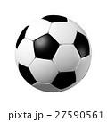 サッカー サッカーボール ボールのイラスト 27590561