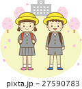 小学生 入学式 背景あり 27590783