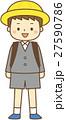 小学生 1年生 入学式のイラスト 27590786