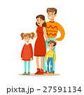 Mom, Dad And Children, Happy Family Having Good 27591134