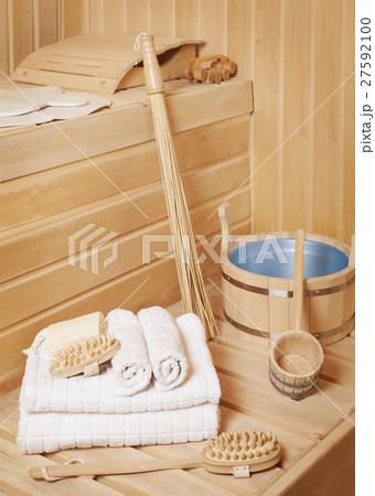 Steam bath-room accessoriesの写真素材 [27592100] - PIXTA