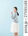 20代 女性 モデルの写真 27593188