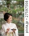ミドル女性 着物 イメージ 27597508