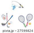 リゾートスポーツ(釣り・ゴルフ・テニス) 27599824